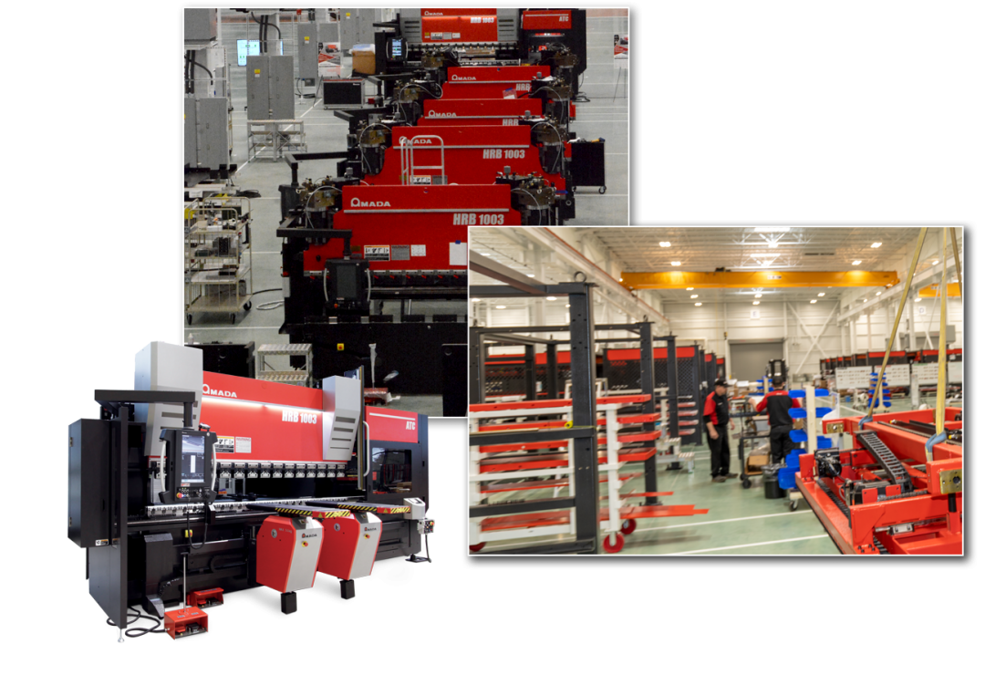 Amada Manufacturing Facility in High Point, North Carolina